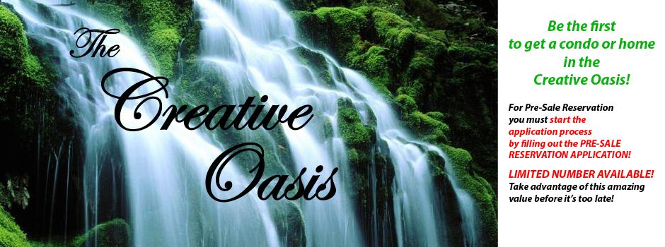 Creative Oasis Slider 1